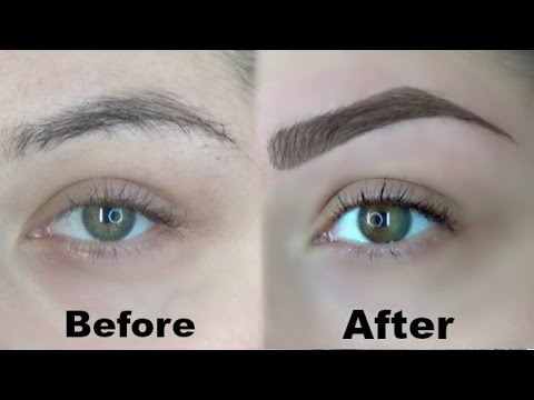 How I Wax And Fill In My Eyebrows (Eyebrow Routine)
