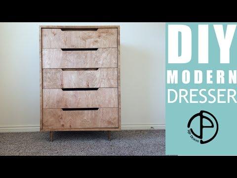 The Ellsworth Project - A DIY Modern Dresser Build