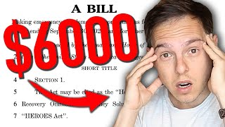 NEW $6000 STIMULUS CHECK | What You MUST Know!