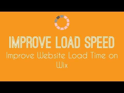 Improving Website Loading Speed on Wix - Wix Website Tutorial 2018