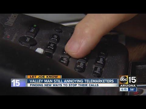 Valley man still annoying telemarketers
