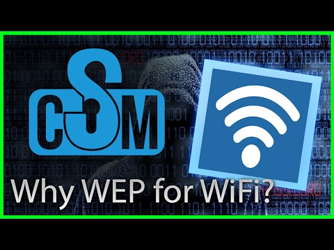 Cyber Security Minute: Why do ISPs still use WEP by default?