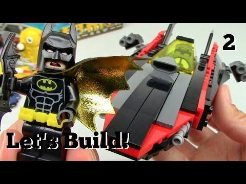 THE LEGO BATMAN MOVIE: Batcave Break-in 70909 - Let's Build! Part 2