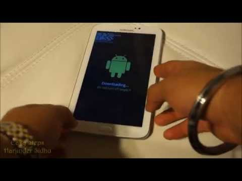 How to put Samsung Galaxy Tab 3 in Download Mode
