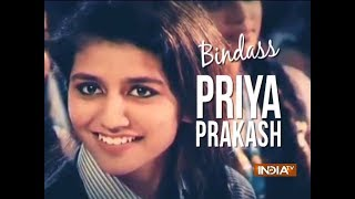 Fans go crazy as Priya Prakash Varrier arrives at a mall in Kochi