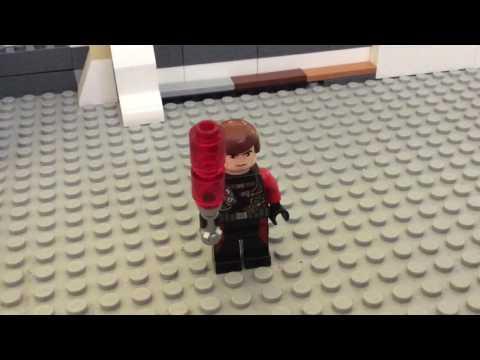 Lego Stop Motion Lightsaber Turning On Tutorial