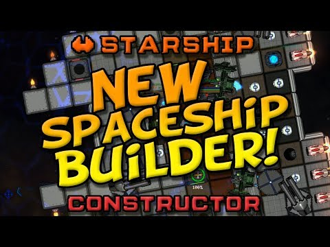 🚀🔨Starship Constructor - NEW SPACESHIP BUILDER! Build, mine, explore and fight!