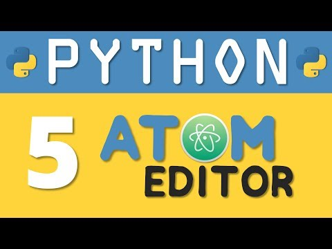 Python tutorial 5: How to Setup Atom Editor for Python Programming By Manish Sharma