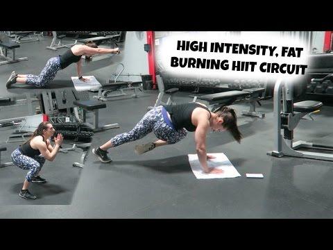 Minimal Equipment High Intensity, FAT Burning HIIT Circuit | Full Workout