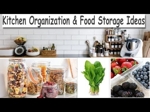 Kitchen Organization & Food Storage Ideas (Learn How To Save Coriander For One Month & Save Money)