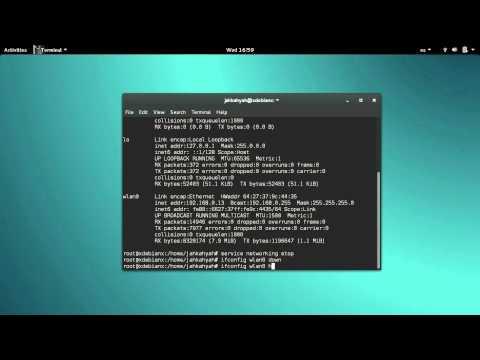 Debian 8  change mac address