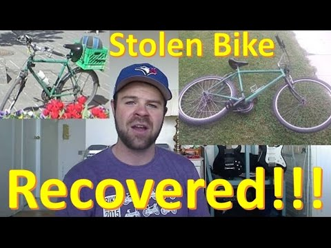How I Recovered My Stolen Bike