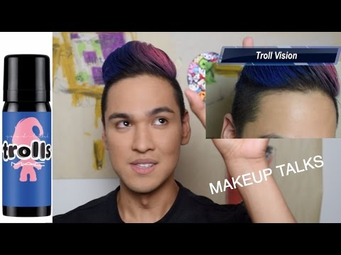 Cool Fashionable Troll Hair - Mac Collection - MAKEUP TALKS
