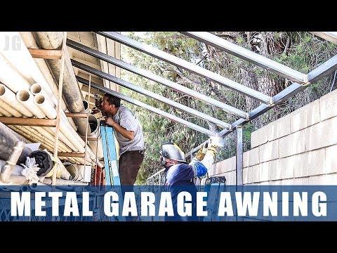 Metal Garage Awning | JIMBOS GARAGE