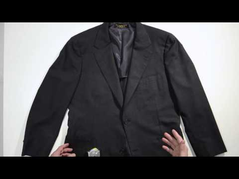 Measuring A Suit Jacket for Ebay