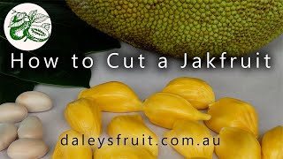 How to Cut a Jakfruit - One Simple Way to Cut Your Fruit.