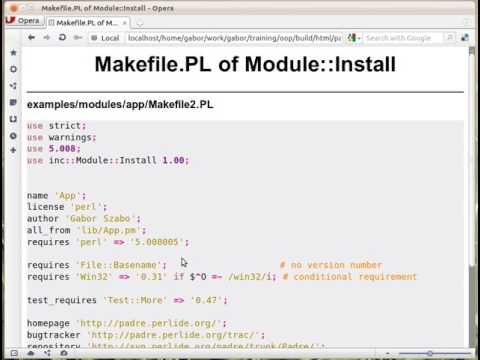 Makefile.PL of Module::Install