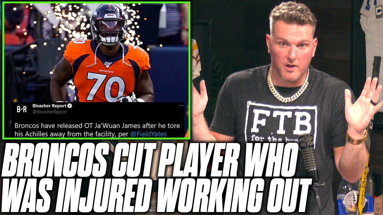 Pat McAfee Reacts To Broncos Releasing Injured Ja'Wuan James
