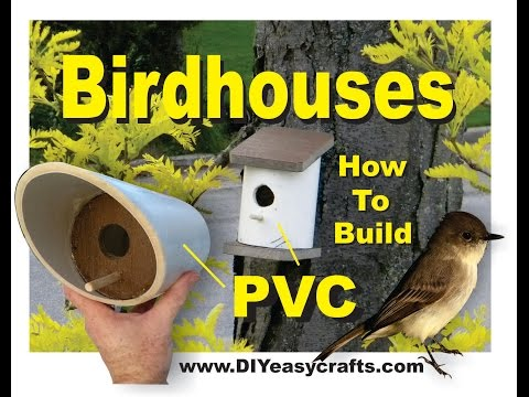 PVC Birdhouses Super Easy DIY How to Build