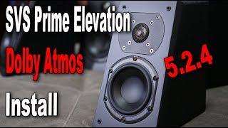 SVS Prime Elevation Dolby Atmos Speaker Install 524,BSK-5