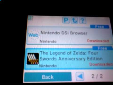 Download: Legend of Zelda free for DSI XL