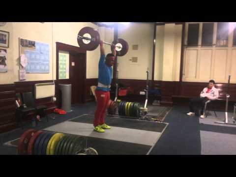 Sonny Webster weightlifting Training video 10/11/14 classics