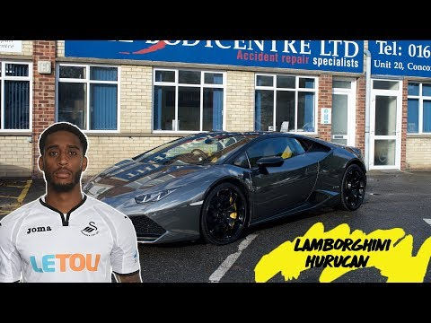 Leroy Fer's Lamborghini Huracan Full Wrap in Black Chrome