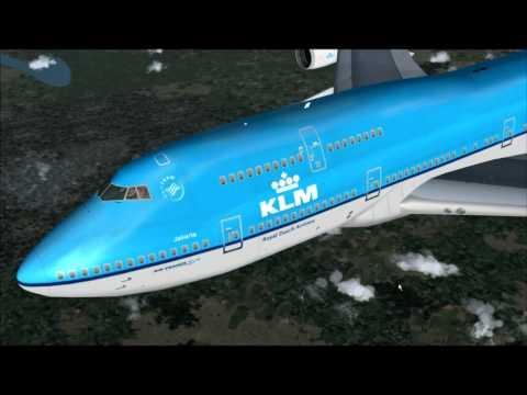 747-400 KLM AMSTERDAM -CHENGDU