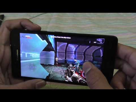 Lenovo A6000 Gaming Test - Dead Effect Gameplay