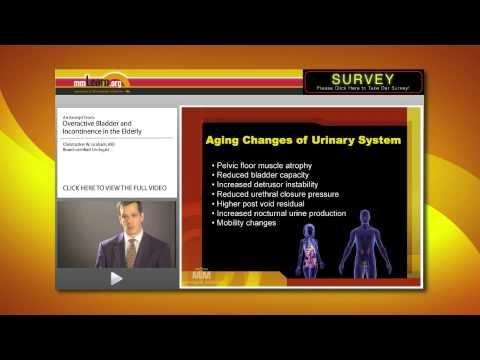 Aging Changes of Urinary System