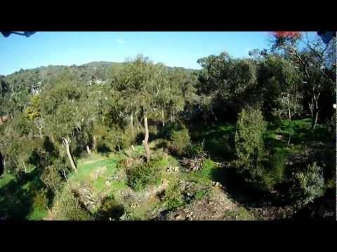 FPV quadcopter freestyle