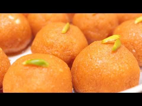 Motichoor Ladoo | Motichur Laddu Recipe in Telugu