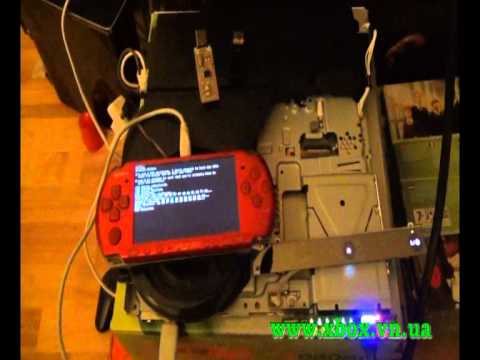 PlayStation 3 downgrade with E3 Flasher without dongle, but using PSP