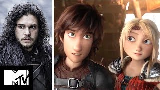 Kit Harington Stars In How To Train Your Dragon 3 EXCLUSIVE | MTV Movies