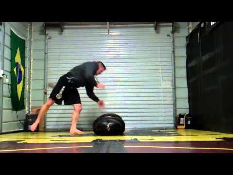 RLVT Agility / Balance Solo Grappling Dummy Drill