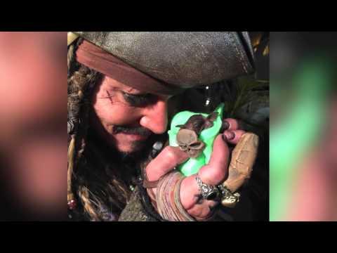 Watch Johnny Depp nurse a baby bat in full Jack Sparrow costume