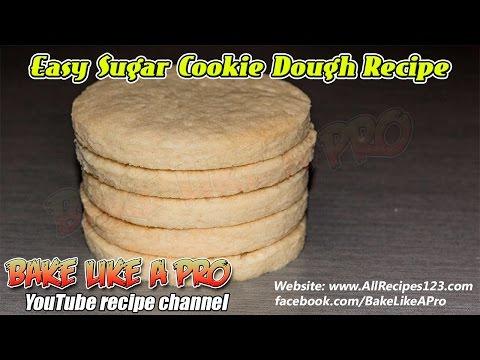 Easy Sugar Cookie Dough Recipe By BakeLikeAPro