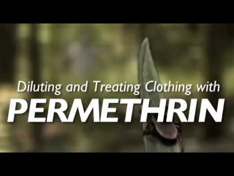 Permethrin - Diluting and Treating Clothing