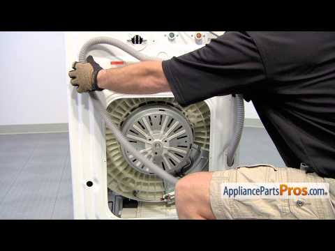 Washer Drain Hose (part #DC97-12534D) - How To Replace