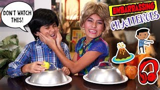 Embarrassing Challenges Skits - Miss Mom Vlogs - Sketch Comedy // GEM Sisters