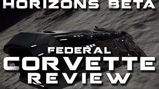 Elite: Dangerous Beta 1 5 - Federal Corvette vs Imperial