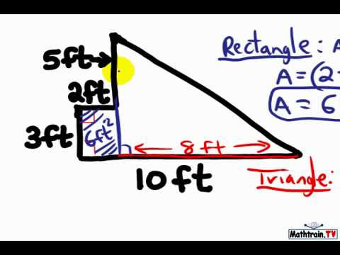 How to Find the Area of a Composite Figure, CCSS.Math.Content.6.G.A.1