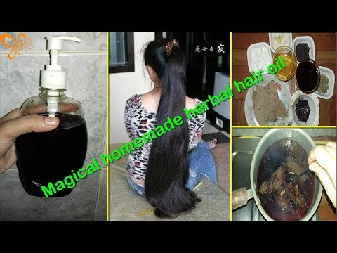 HOMEMADE HAIR OIL FOR FAST HAIR GROWTH | CURE WHITE HAIRS | GET SOFT SHINY THICK & LONG HAIRS FAST