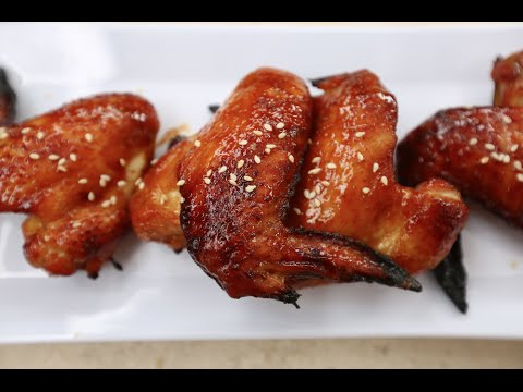 Best Hoisin Sriracha Wings recipe by SAM THE COOKING GUY