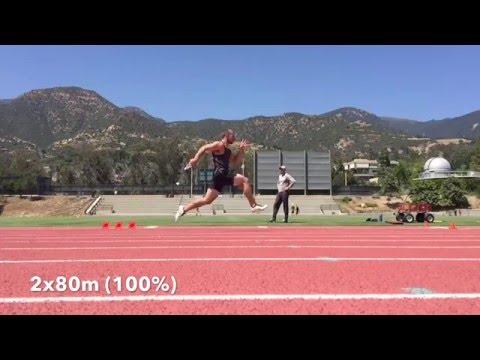 Sprint Training - Short Speed Endurance & Lifting Workout