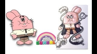 Gumball Characters as Villains