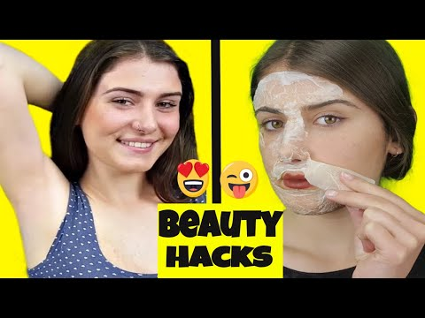 11 Natural Beauty Hacks For Gorgeous Skin, Hair Removal, Teeth & Nails
