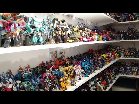 TRANSFORMERS PRIME TOY COLLECTION VIDEO BY MITCH SANTONA