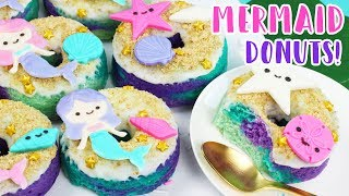 how to make mermaid donuts