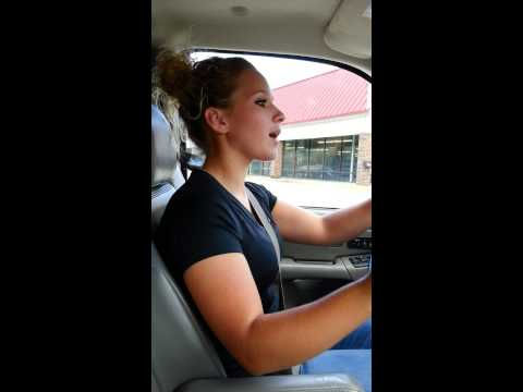 HILARIOUS! Just after getting driver's permit....
